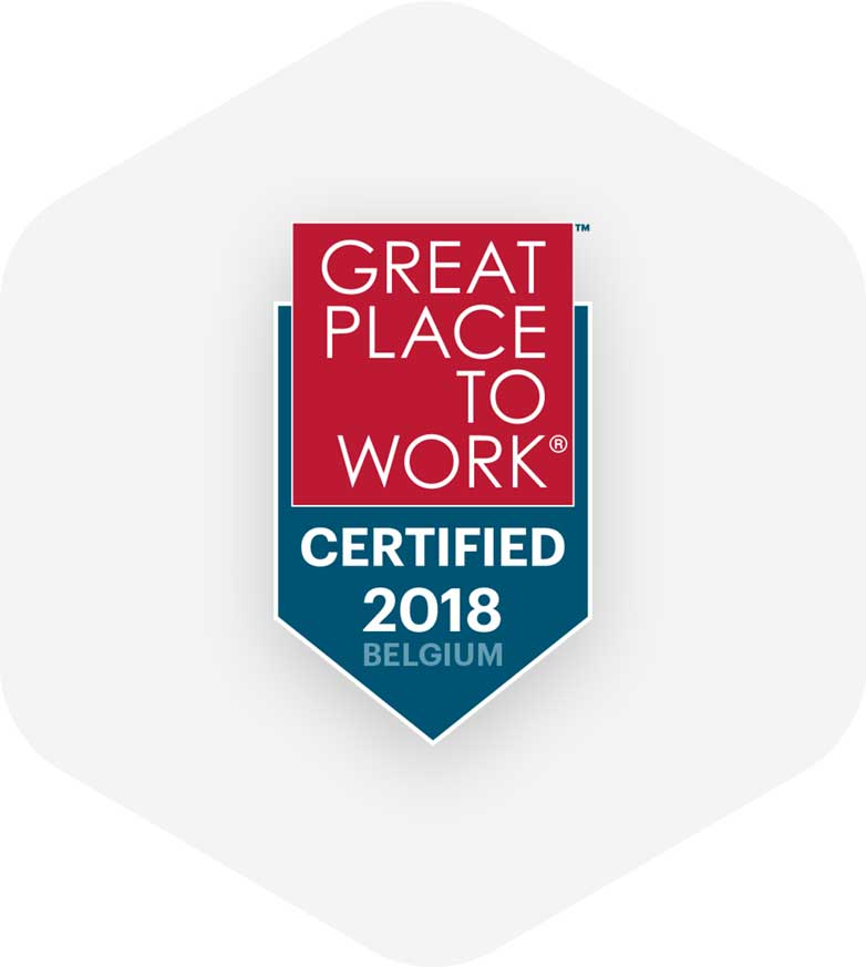 Great Place To Work badge middle image