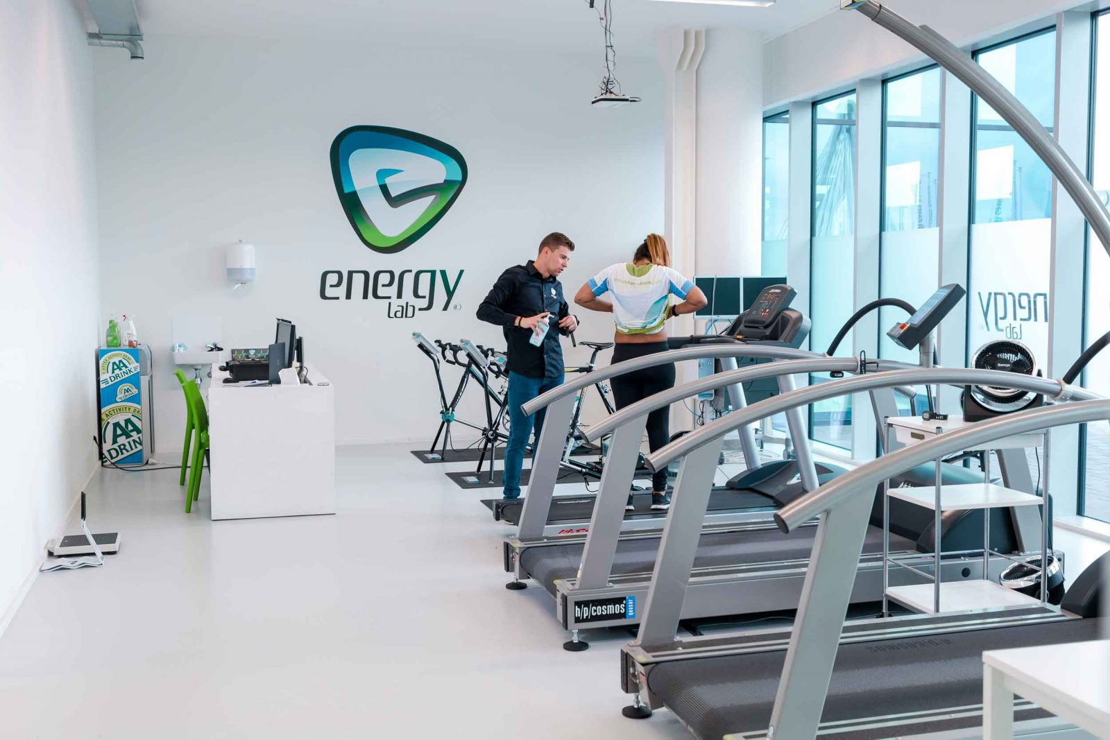 Training & test floor in the Energylab offices