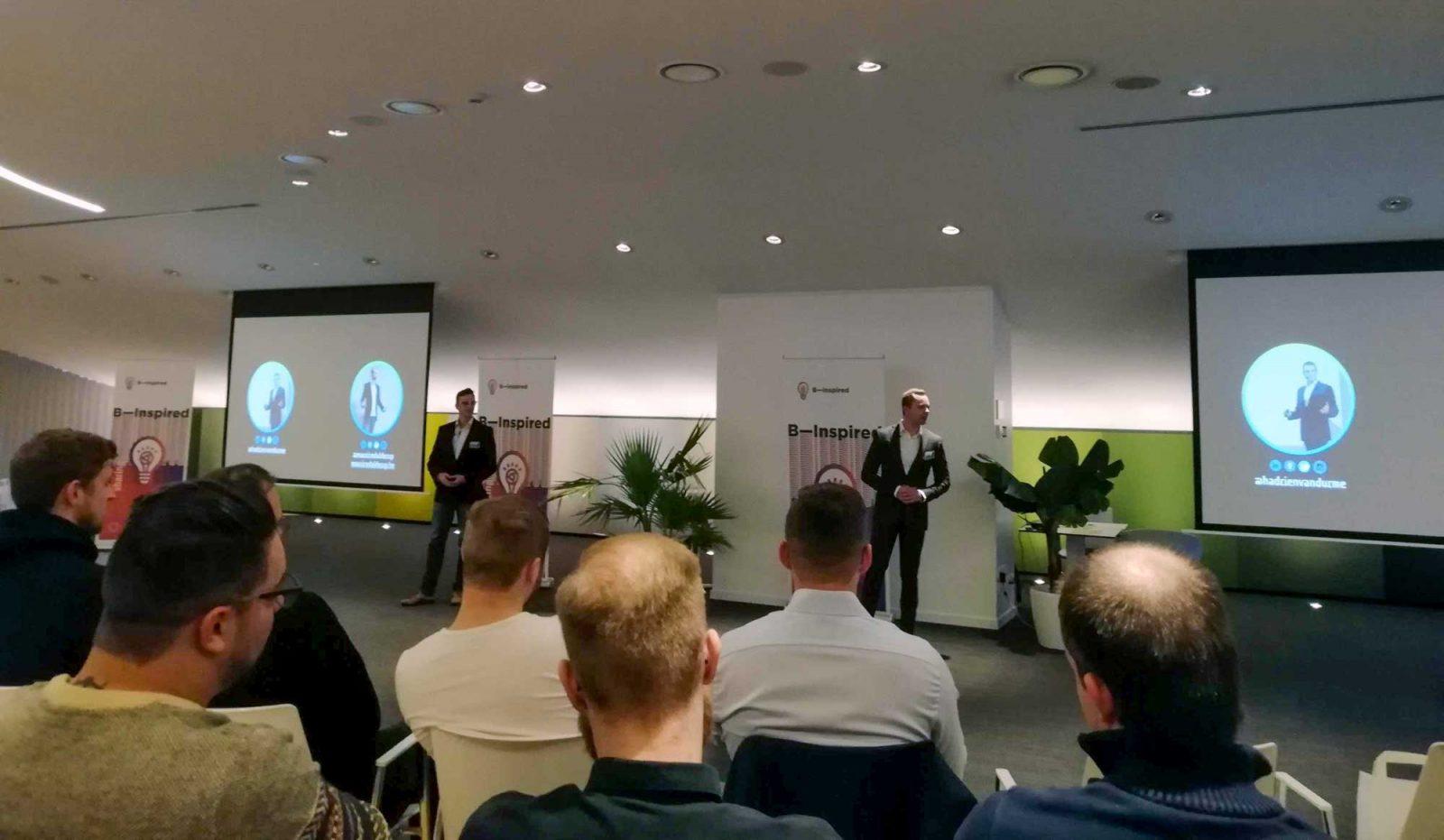 Hadrien & Maurice spreken over Blockchain op B-Inspired